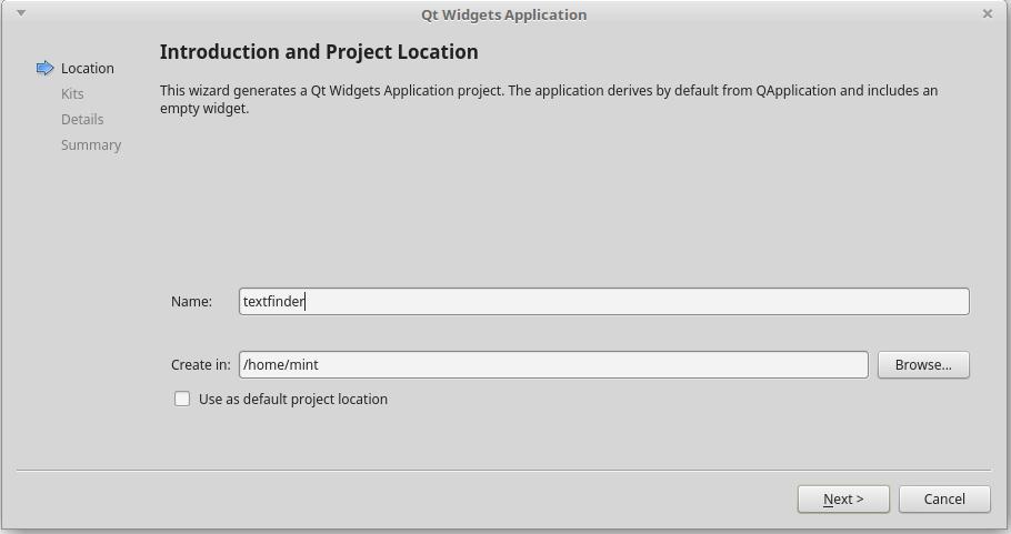 QtCreatorでファイルパスを設定